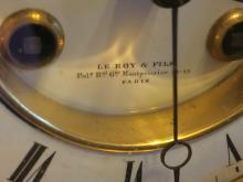 Lot 134: Sevres Marble Clock