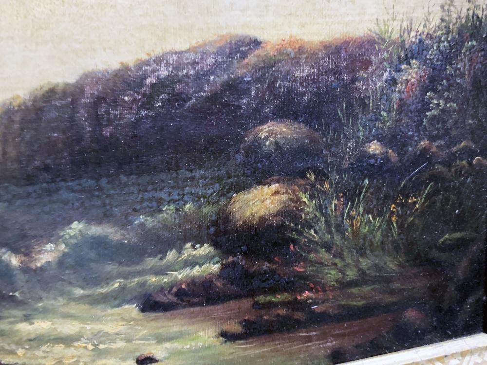 Lot 142: Vintage Seascape Oil Painting