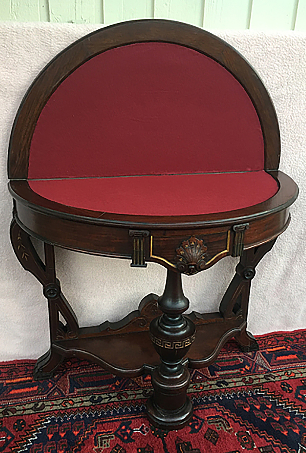 Rosewood Lift Top Game Table