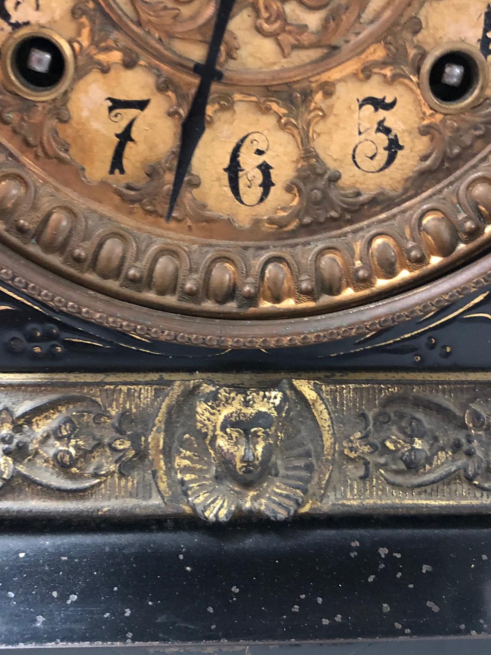 Lot 143: Ansonia Mantel Clock