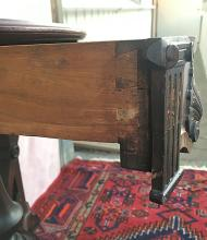 Lot 144: Rosewood Lift Top Game Table