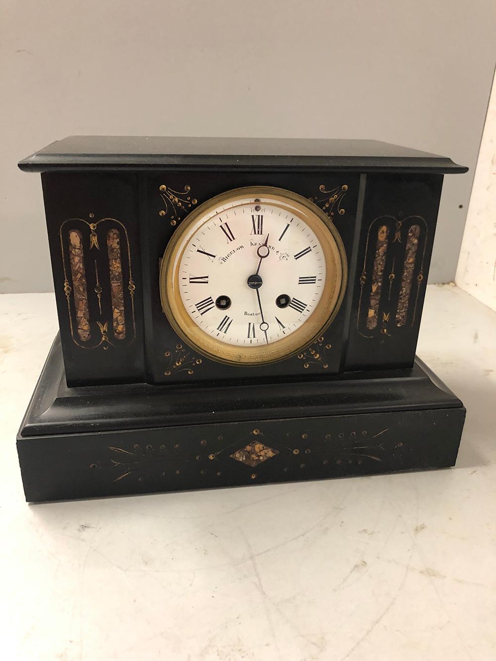 Bigelow Kennard & Co. Mantel Clock