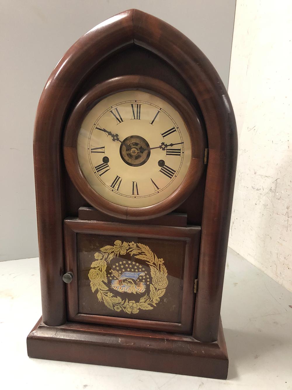 Beehive Shelf Clock