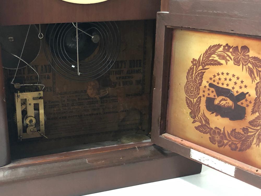 Lot 149: Beehive Shelf Clock