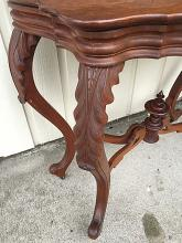 Lot 150: Victorian Walnut Game Table