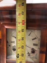 Lot 155: Mid Size OG Shelf Clock