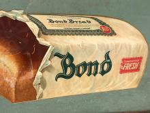 Lot 159: Antique Bond Bread Advertising