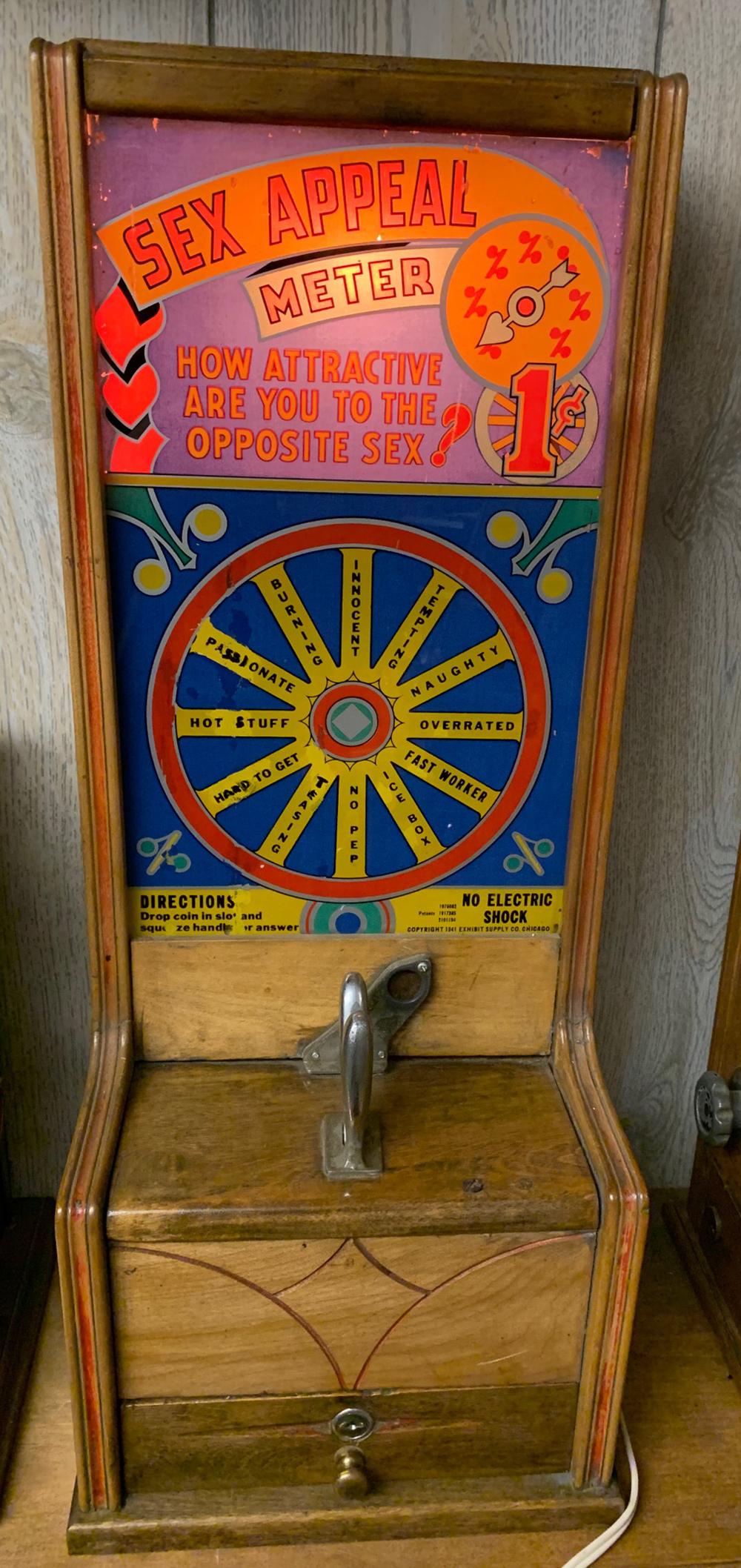 Vintage Sex Appeal Strength Arcade Game