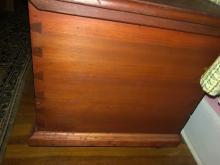 Lot 165: Vintage Blanket Chest and Contents