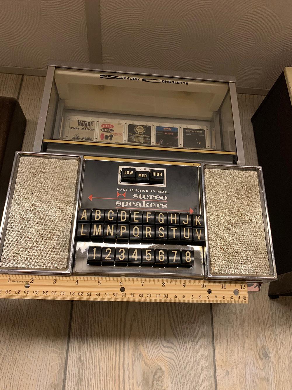 Vintage Seeburg Consolette Jukebox