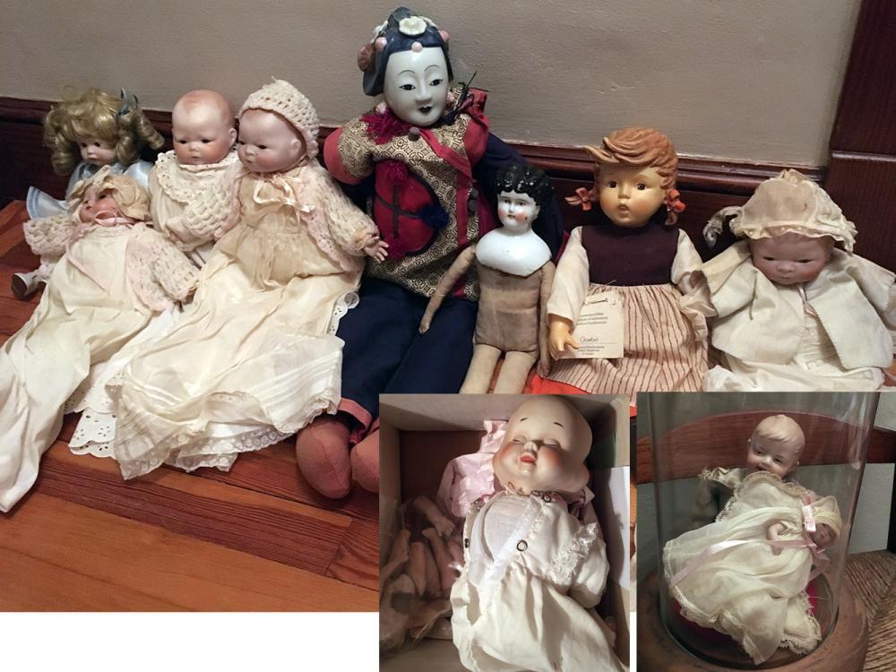 11 Vintage Dolls