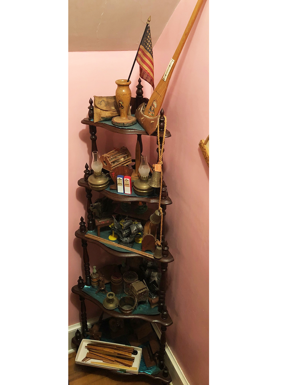Etagere and Collectibles