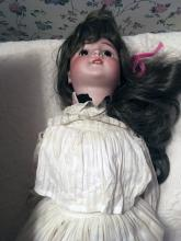 Lot 181: Porcelain Dolls and Doll Parts
