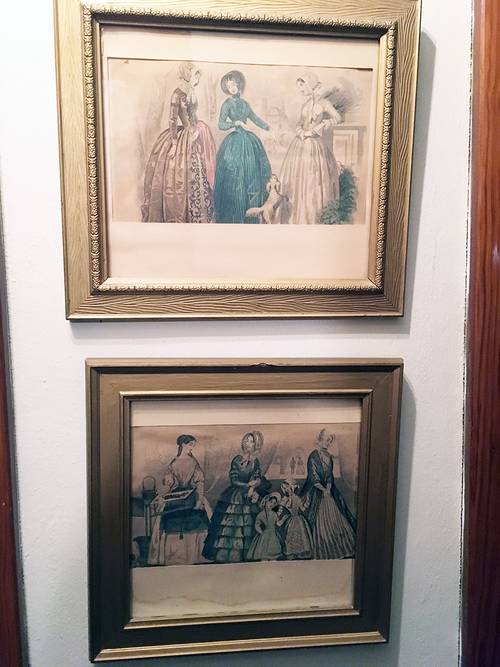 Lot 184: Victorian Godey Girls Lithographs