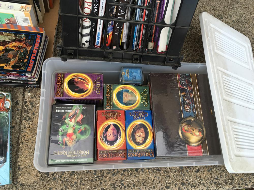 Lot 186: Estate Lot Games, Collectorâ's Cards, Books, etc.