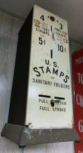 Lot 192: Vintage Stamp Vending Maching