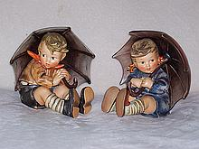 Umbrella Girl & Boy Hummels