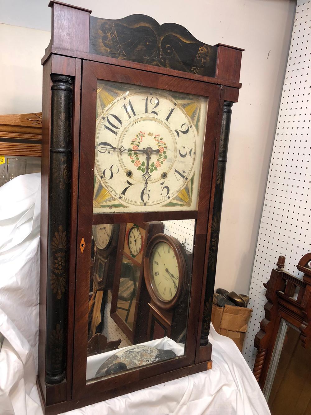 Roman M. Atler & Co. Antique Clock