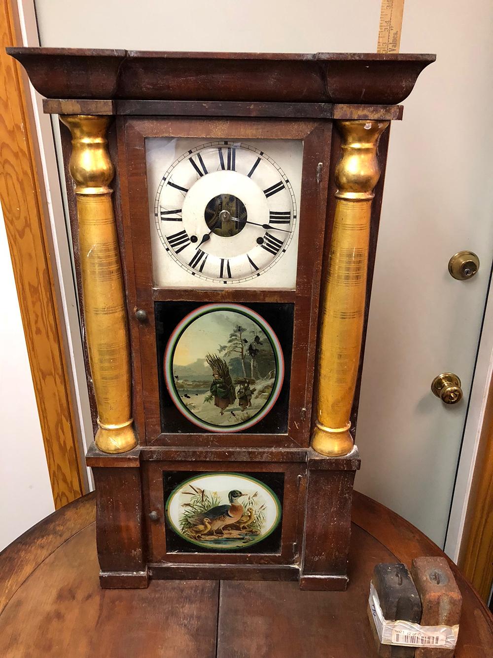 Seth Thomas Triple Decker Shelf Clock