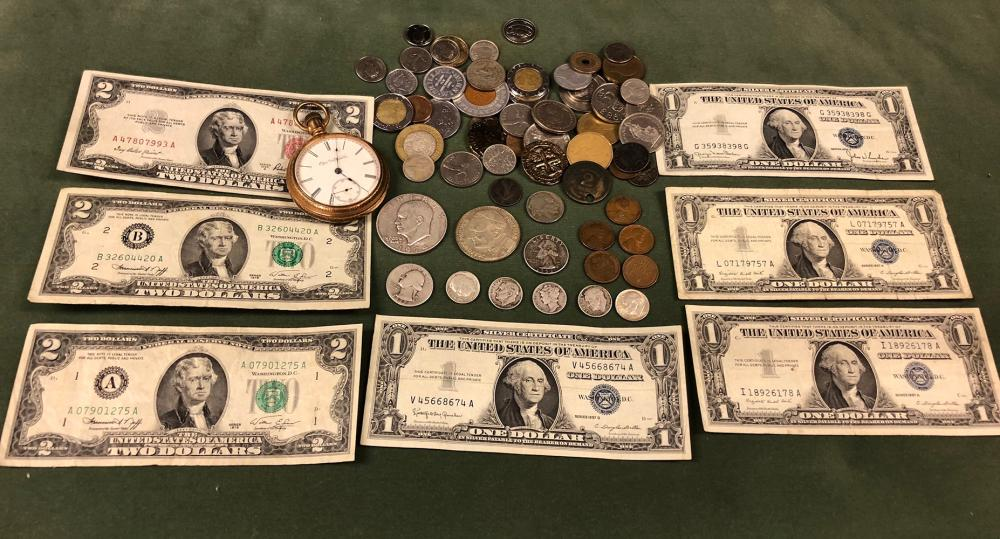 Silver Coins and Currency