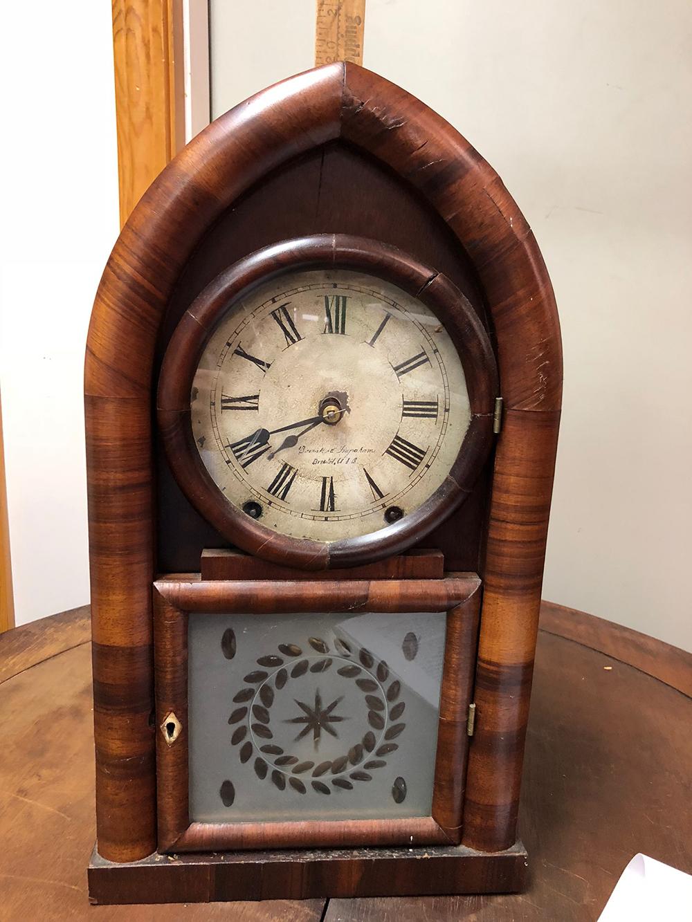Brewster and Ingrahms Beehive Clock