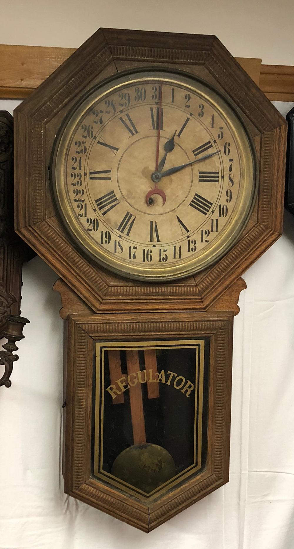 Ingraham Regulator Clock
