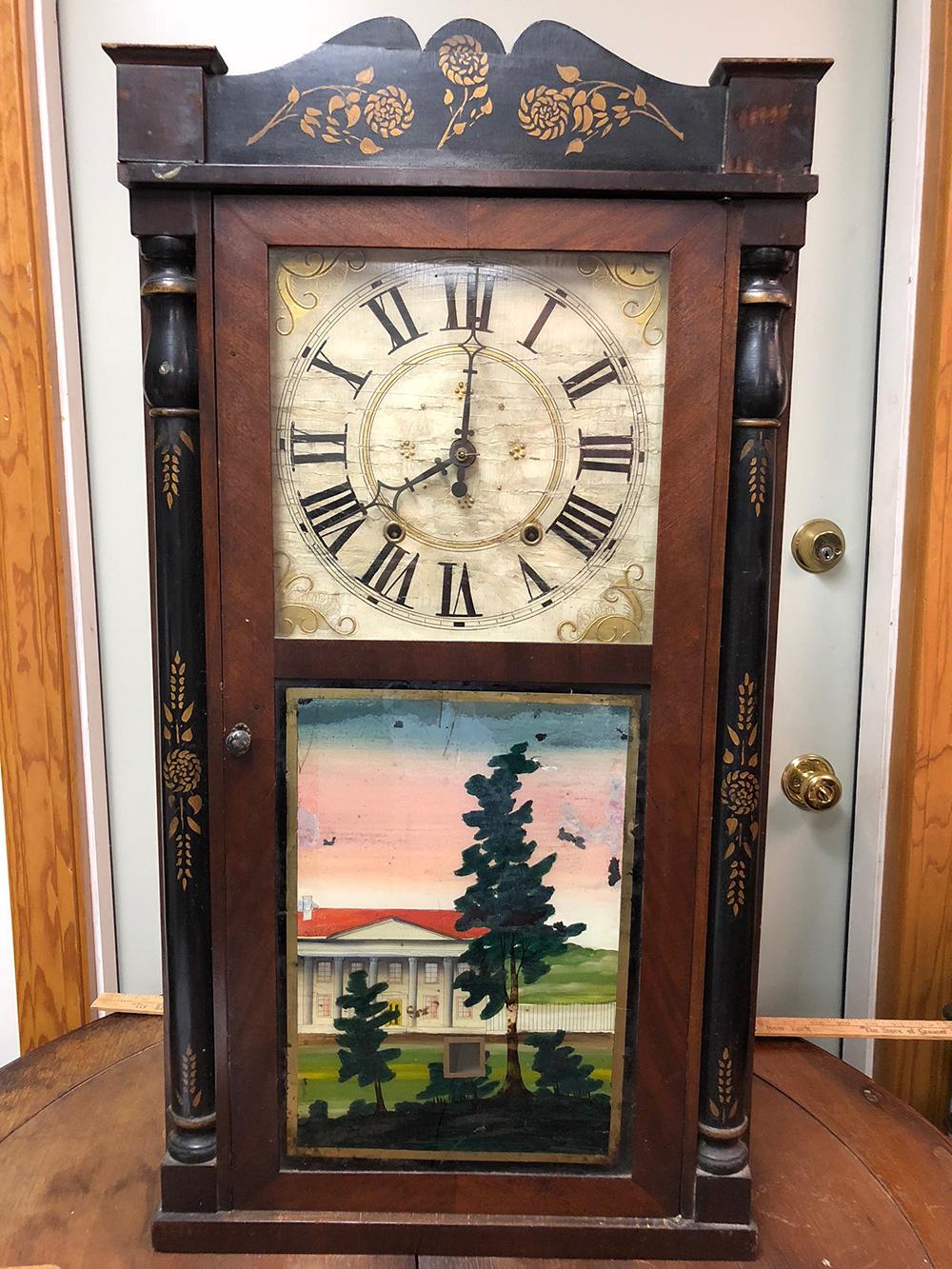 Williams, Orton, Preston & Co. Column Clock