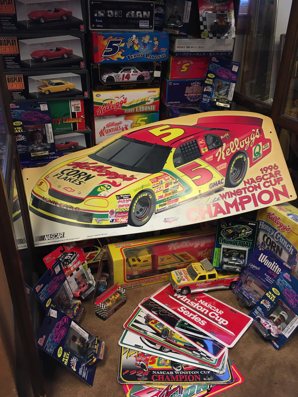 Terry LaBonte and Racing Collection