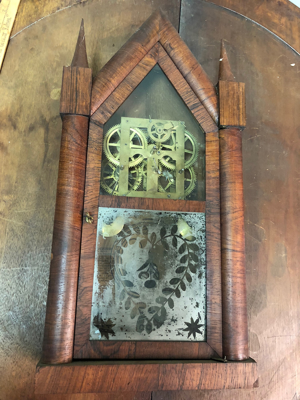Smith and Goodrich Shelf Clock