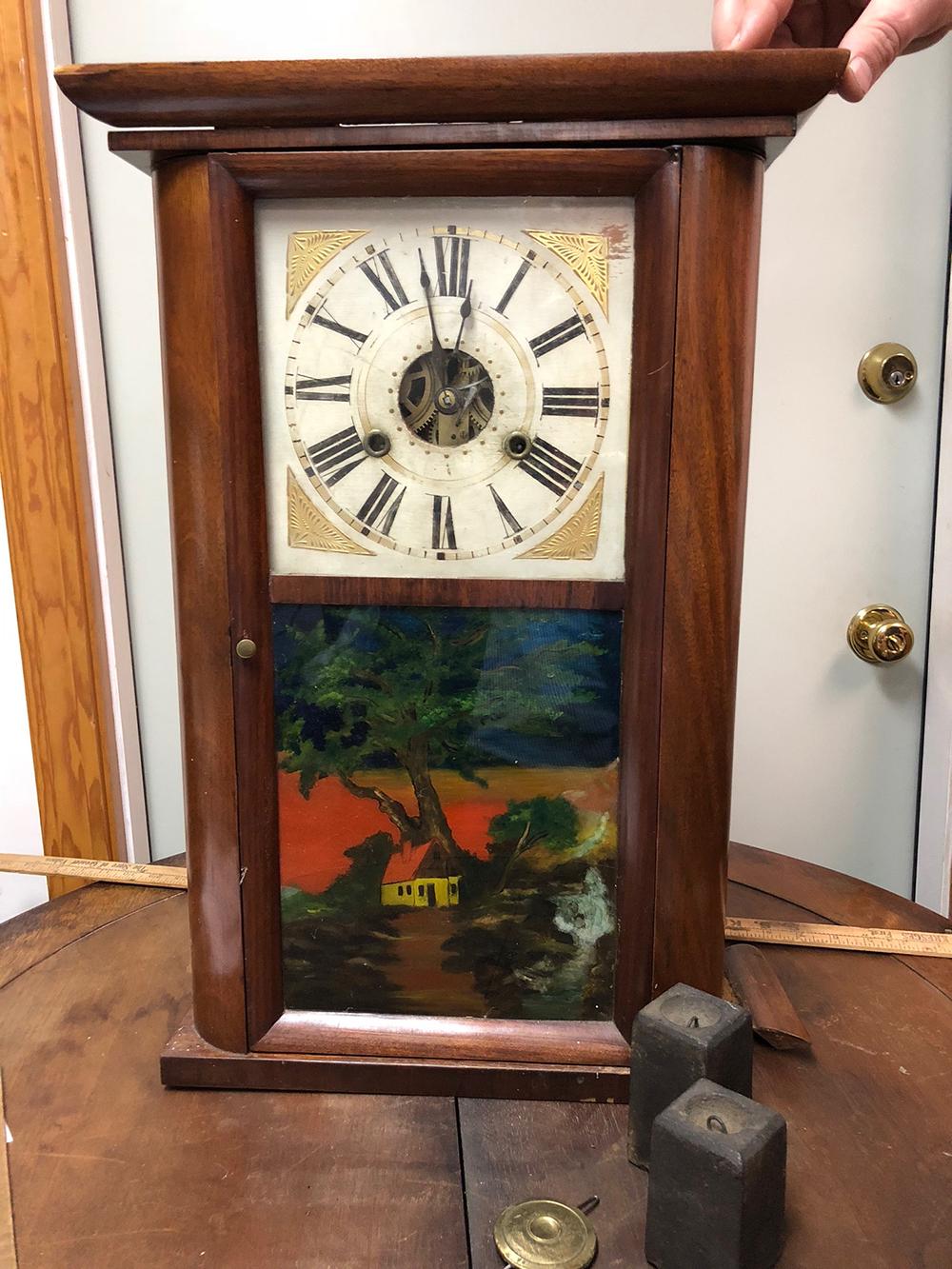 H. Welton Shelf Clock