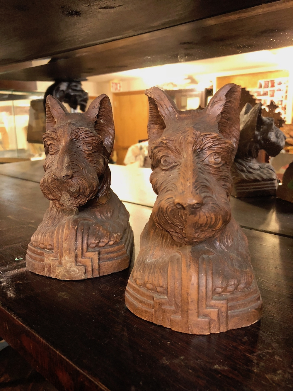 Scotty Dog Book Ends