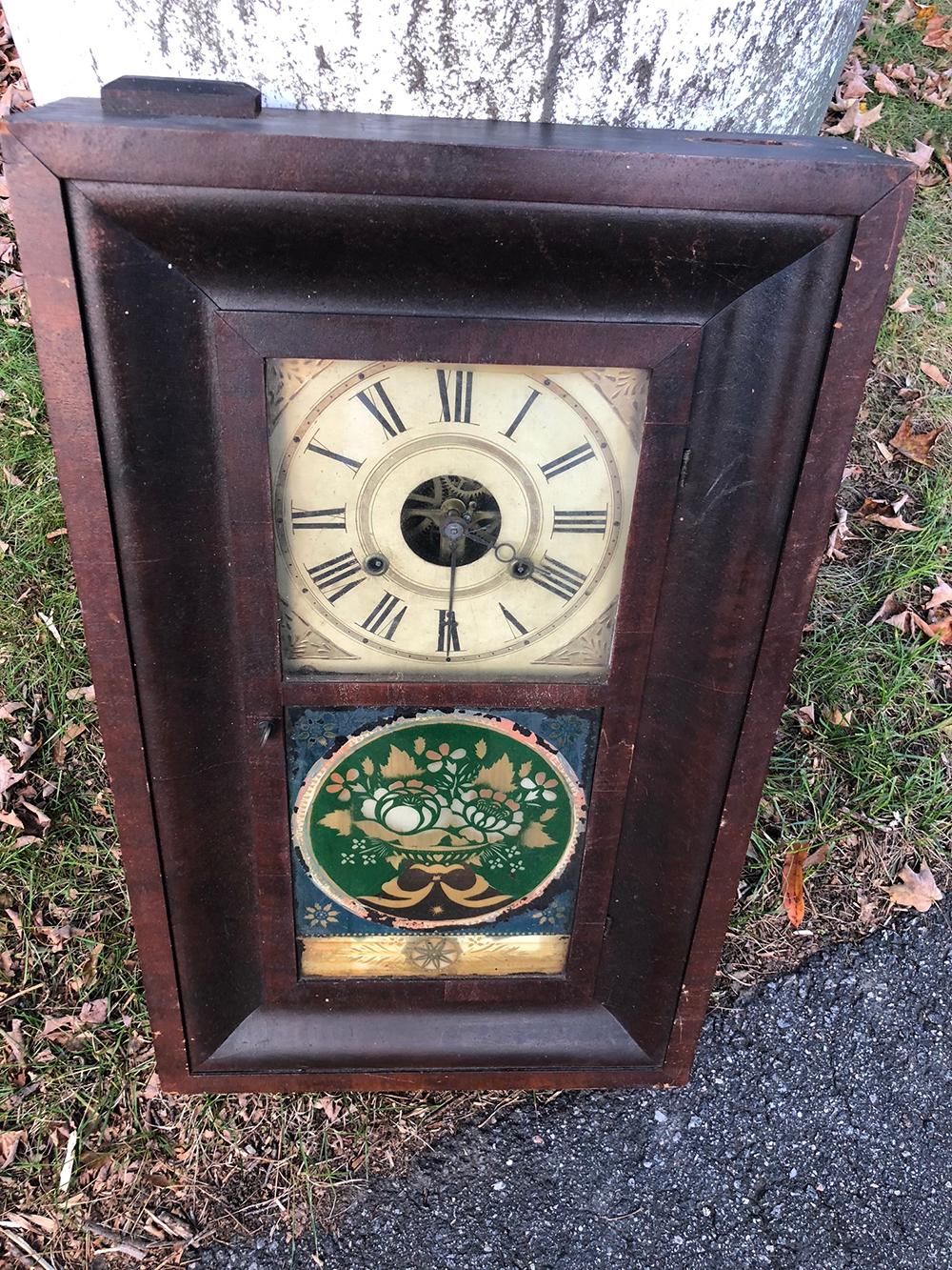 Alden Atkins OG Shelf Clock
