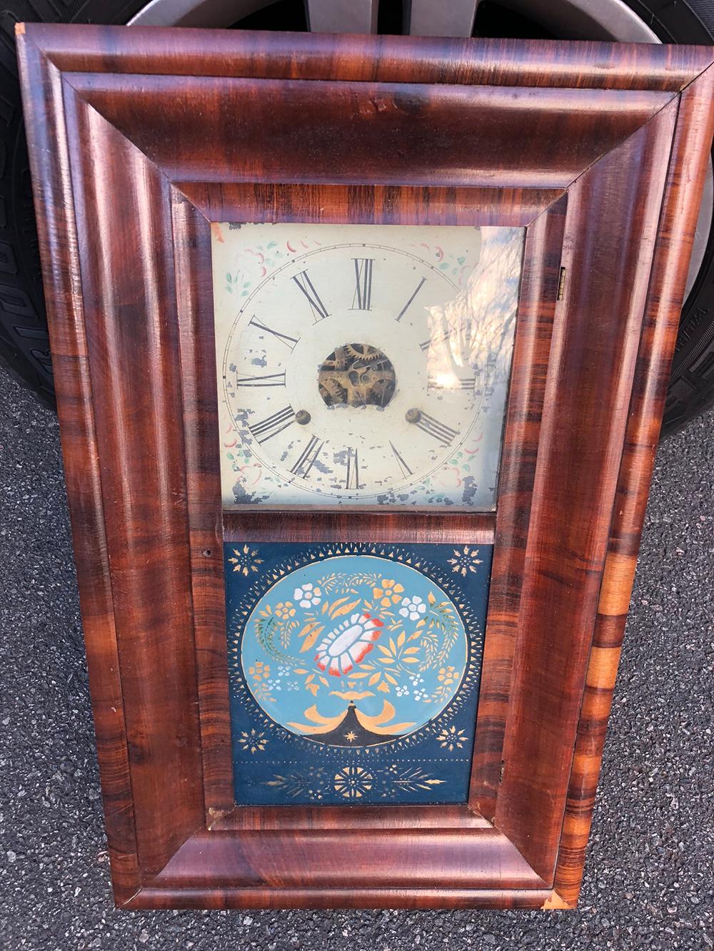 J.C. Brown OG Shelf Clock