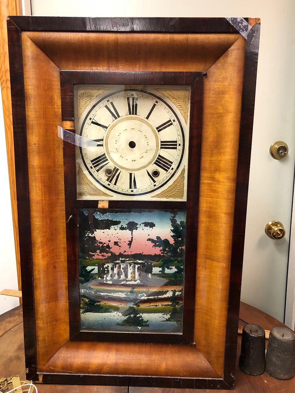 E.C. Brewster and Co. OG Shelf Clock