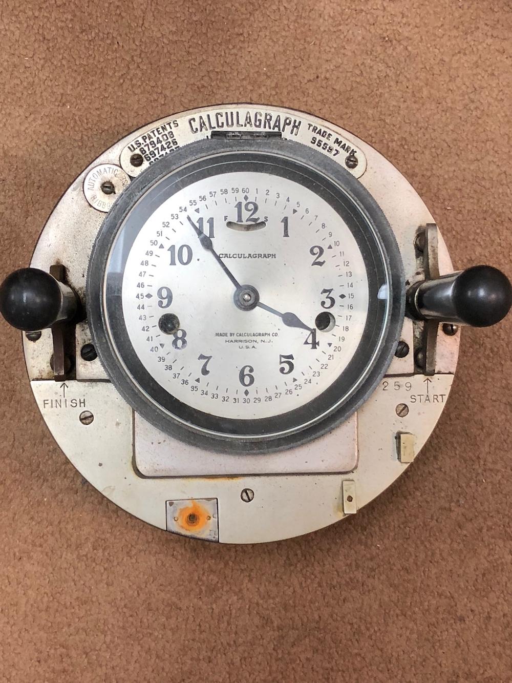 Vintage Calculagraph