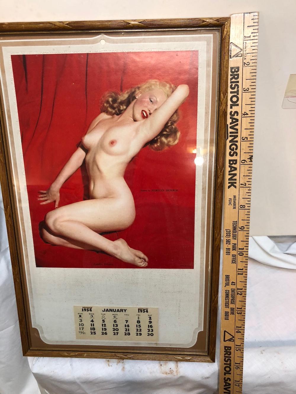 Marilyn Monroe 1954 Calendar