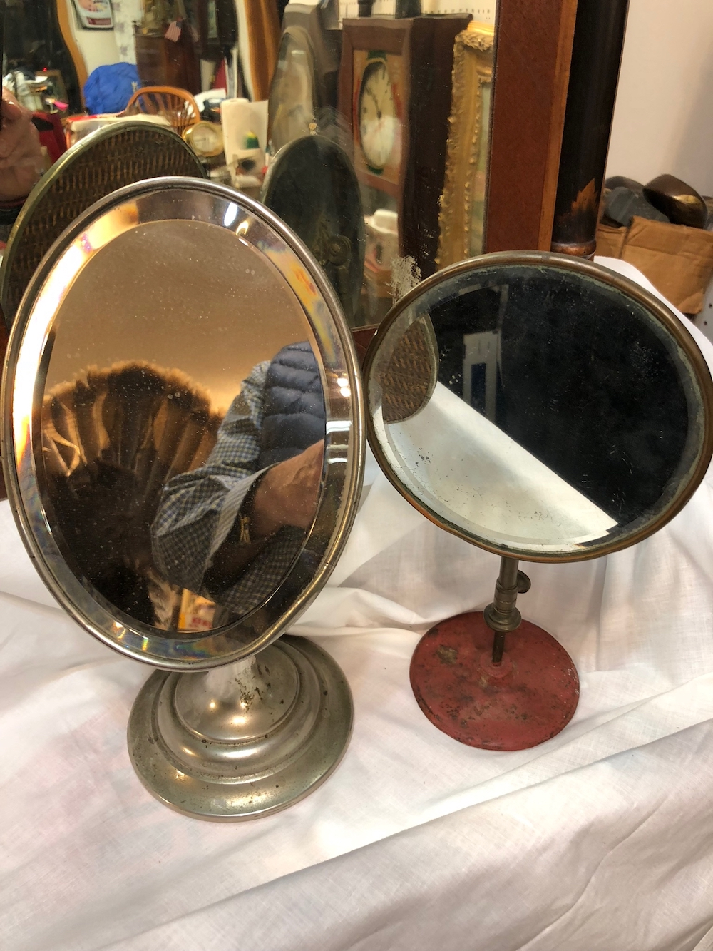 Antique Shaving Mirrors