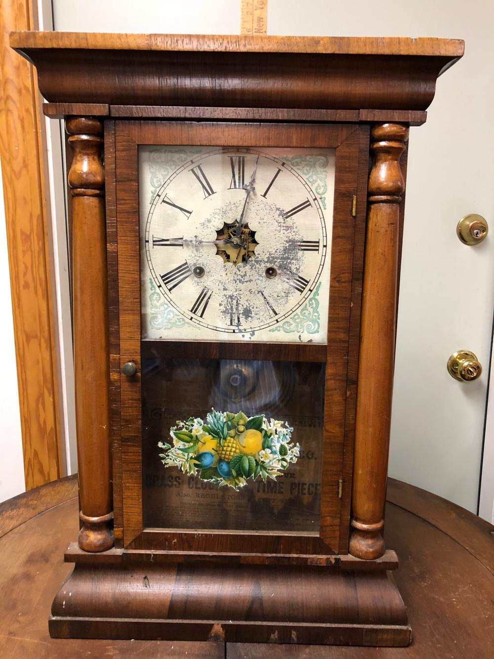 Waterbury Clock Co. Shelf Clock