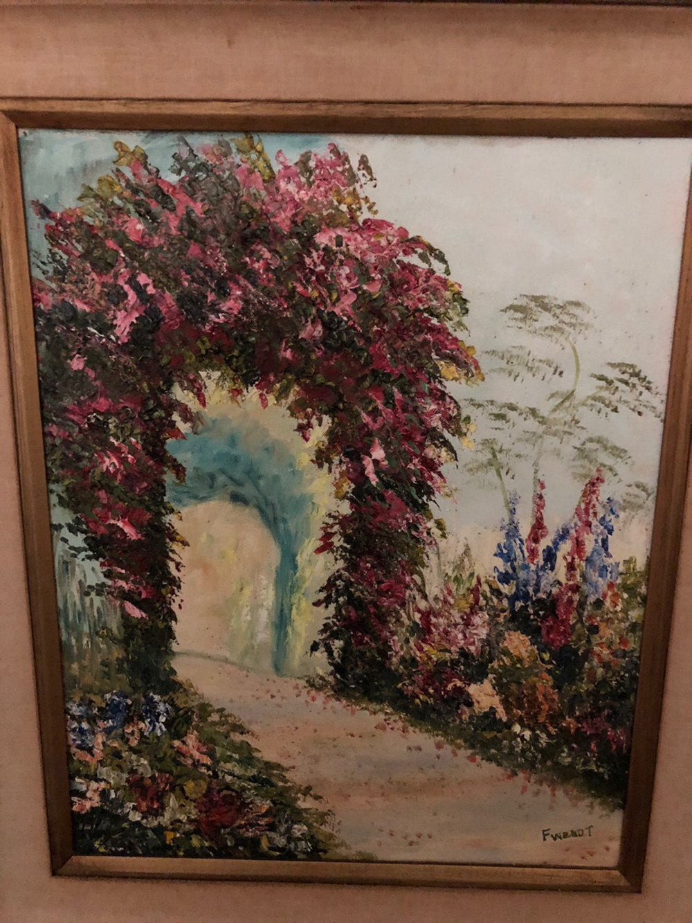 F. Wendt Oil Painting