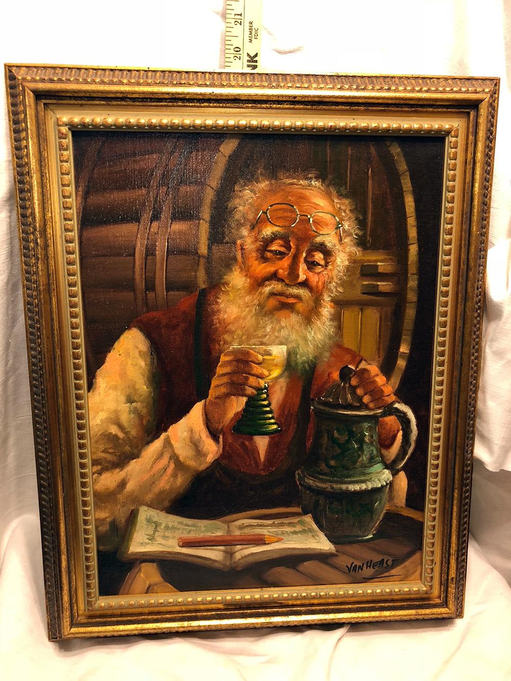 Van Heast Estate Oil Painting