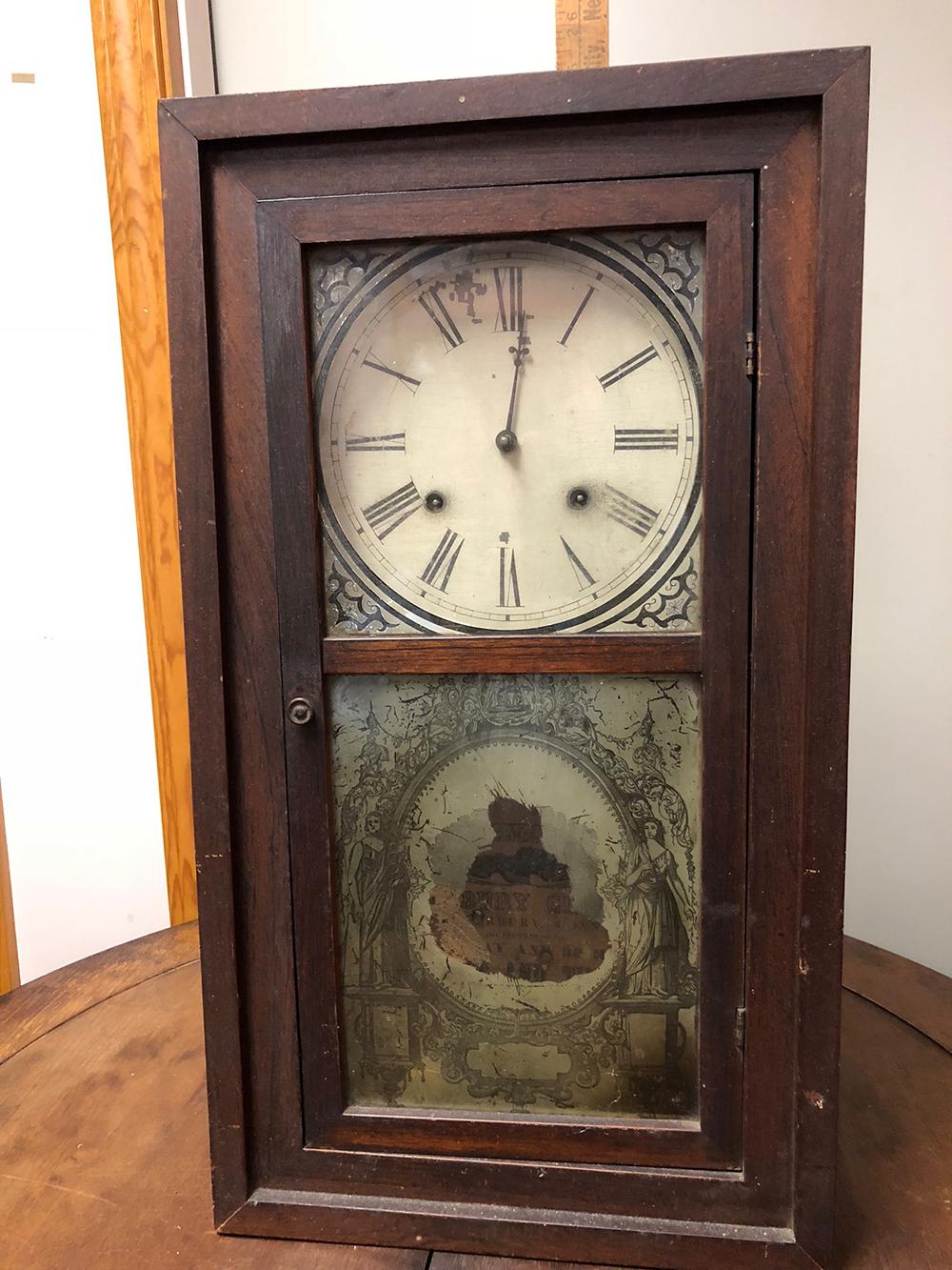 Waterbury Clock Co. Cased Clock