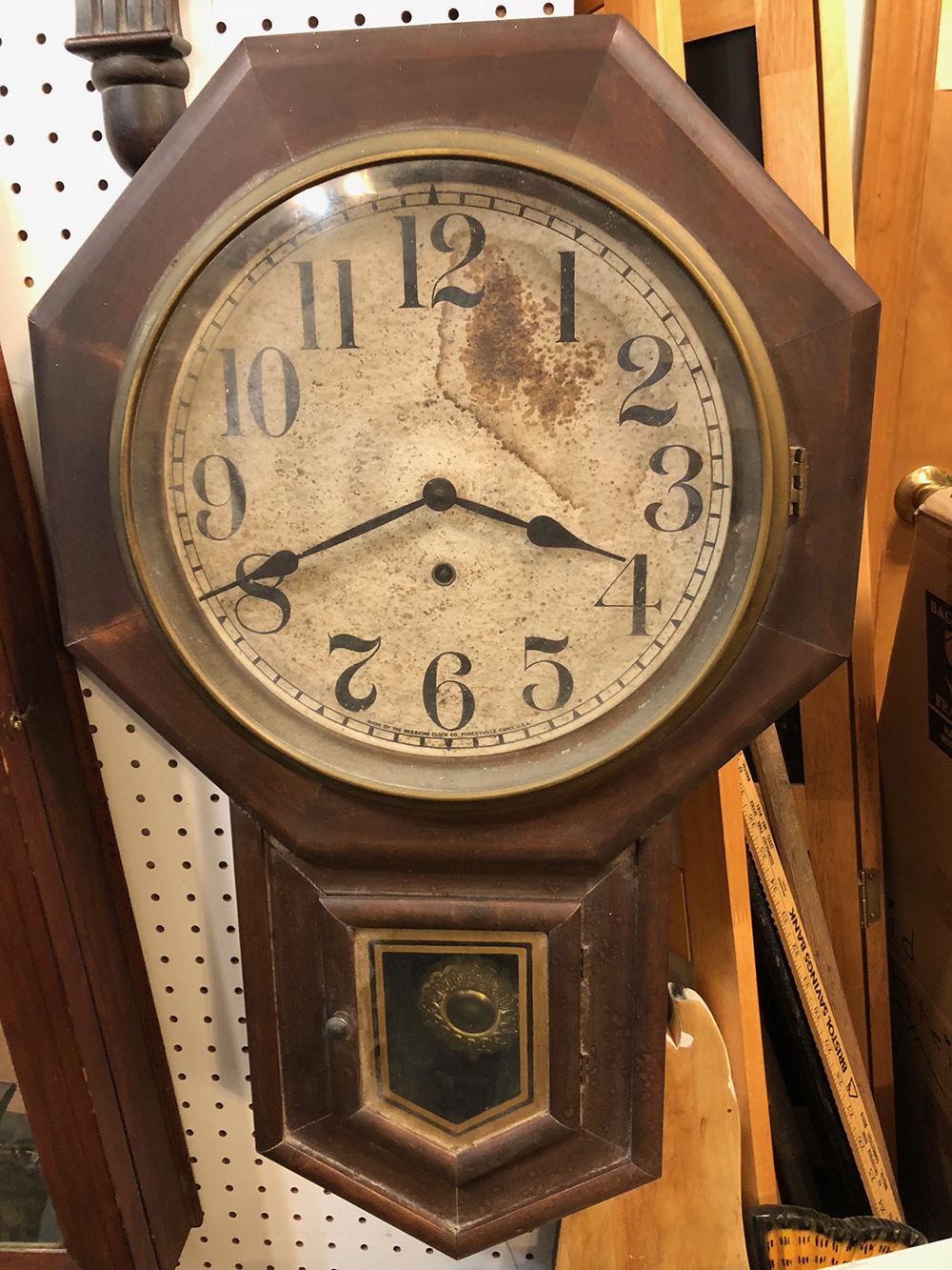 Clinton Regulator Clock by Sessions Clock Co.