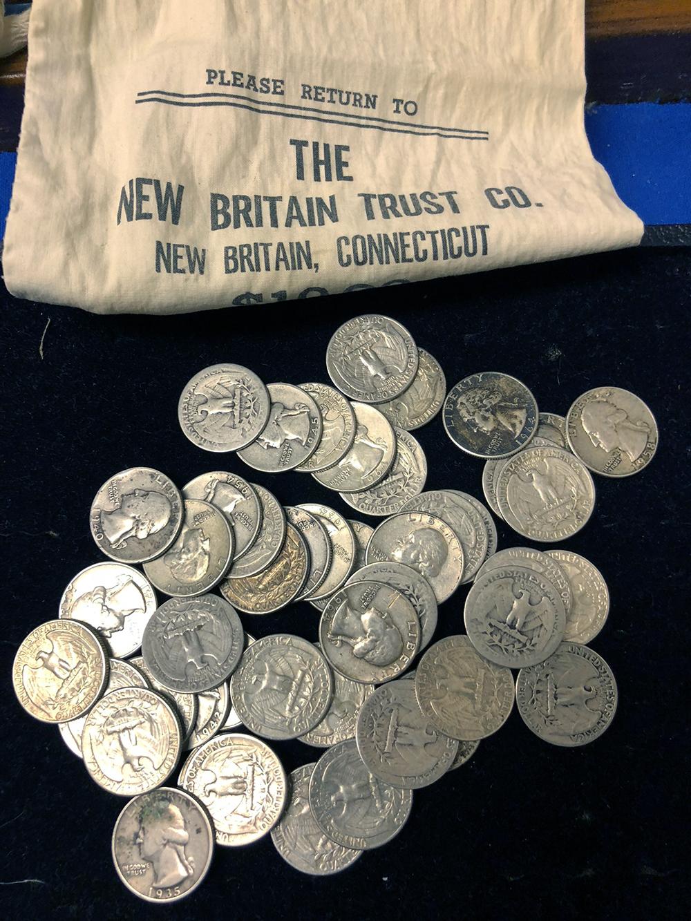 47 Silver Quarters