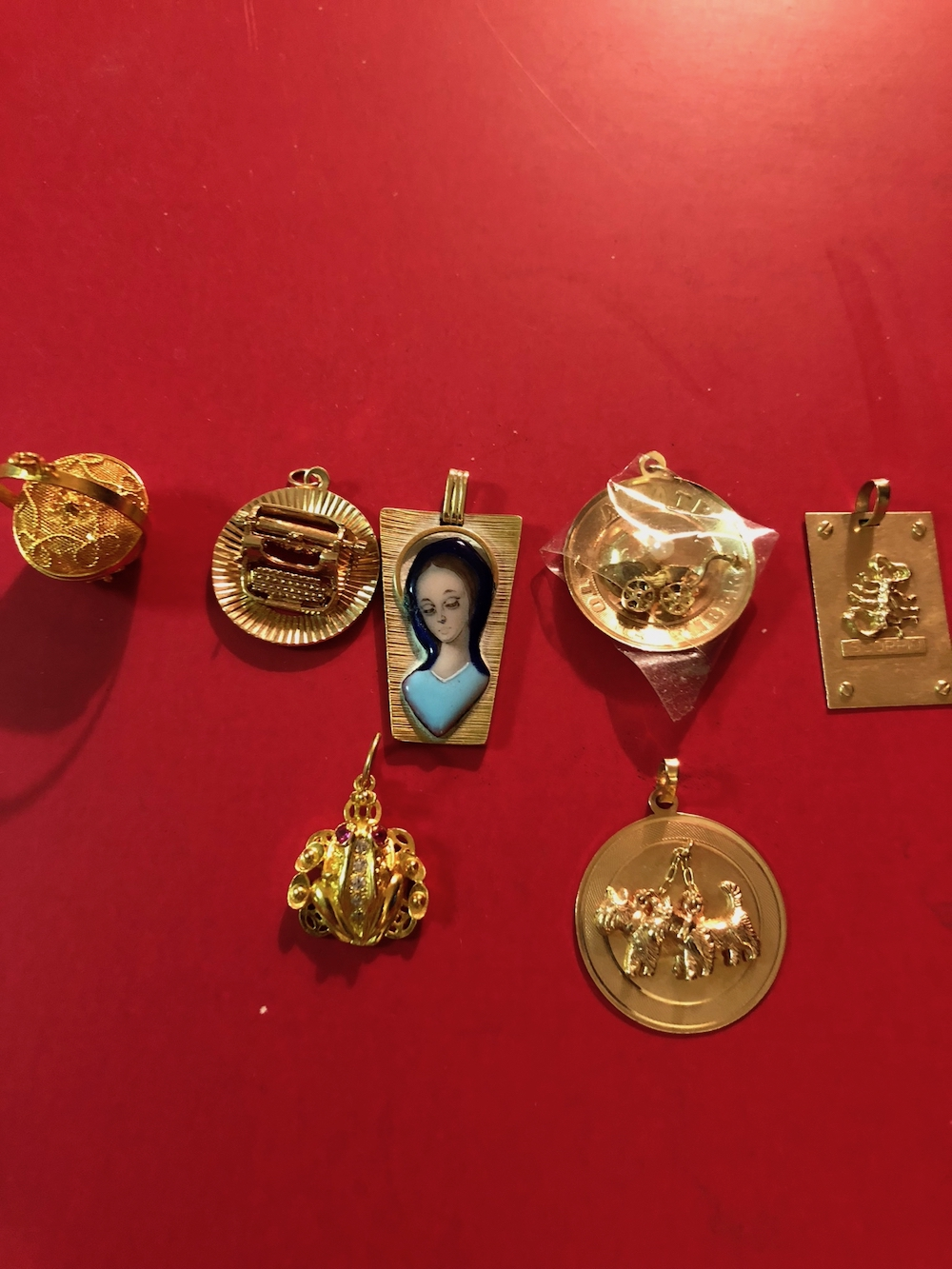 14kt Gold or Higher Charms