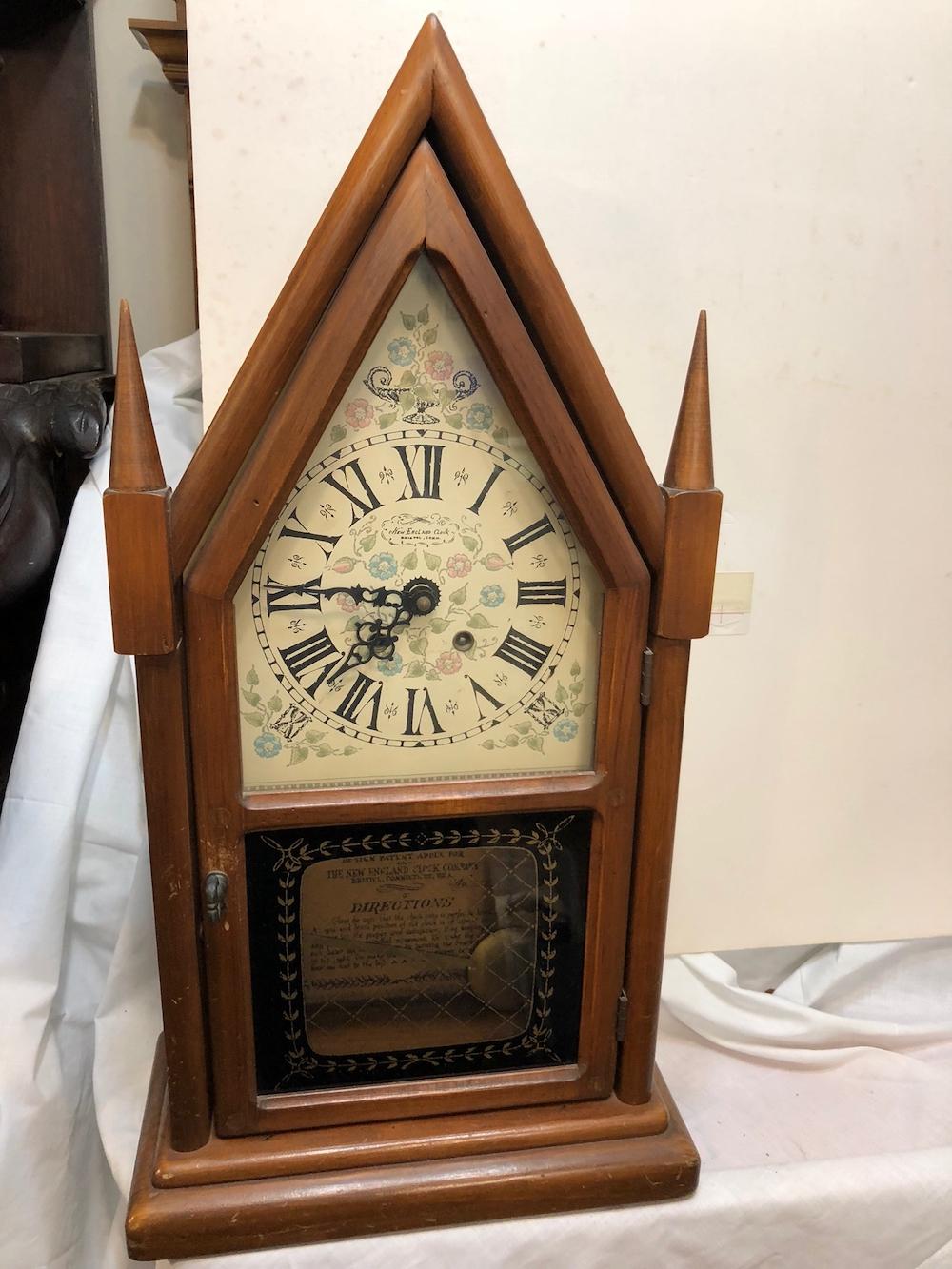 New England Clock Company Steeple Clock