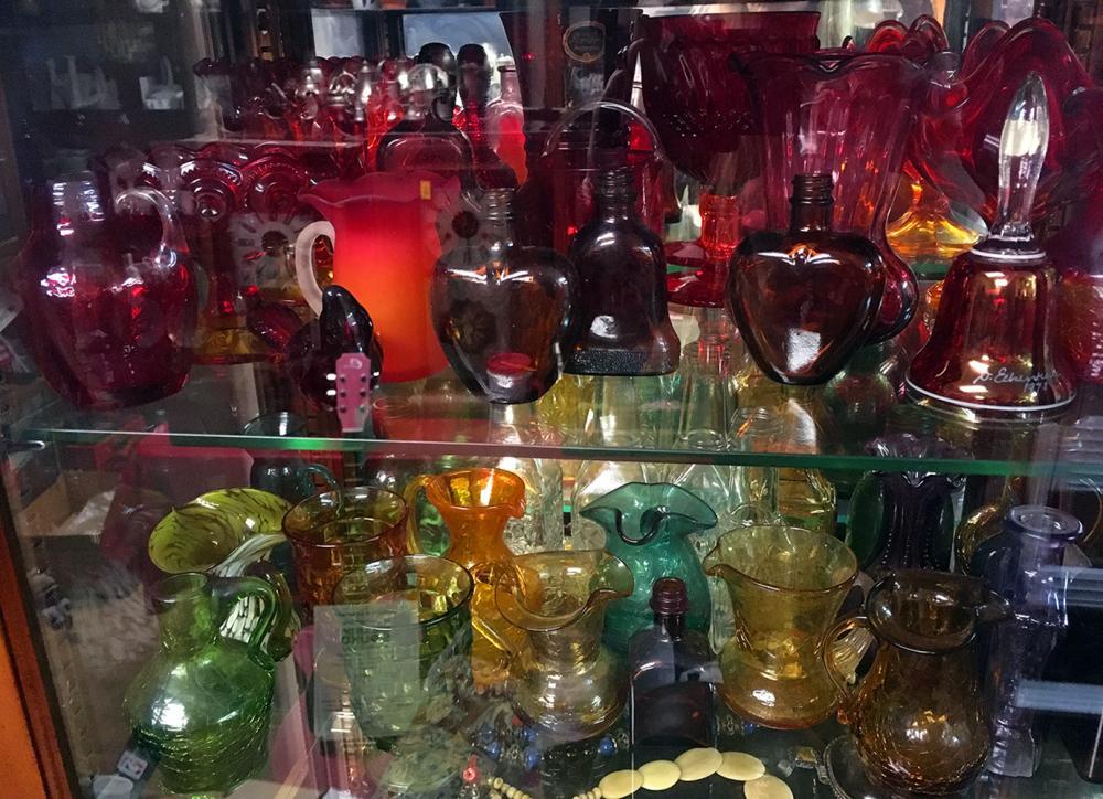 Colored Glass Estate Collection