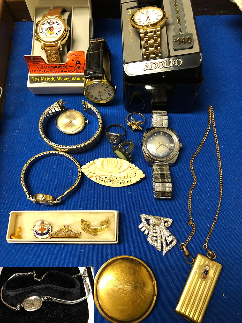 Estate Watch and Jewelry Collection