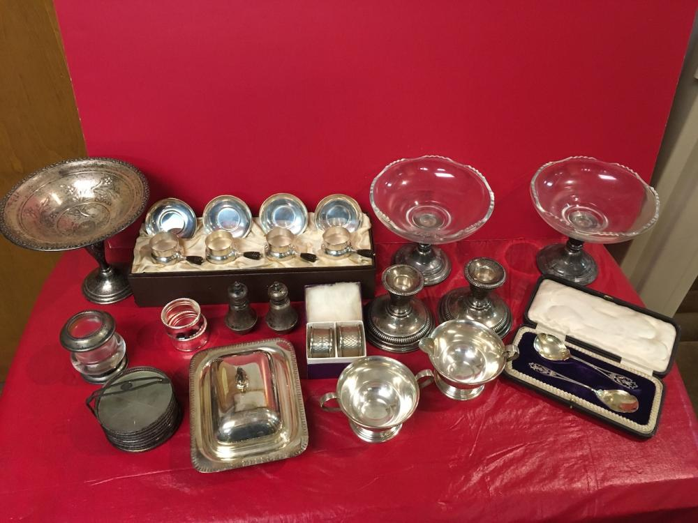 Sterling and Silverplate Lot