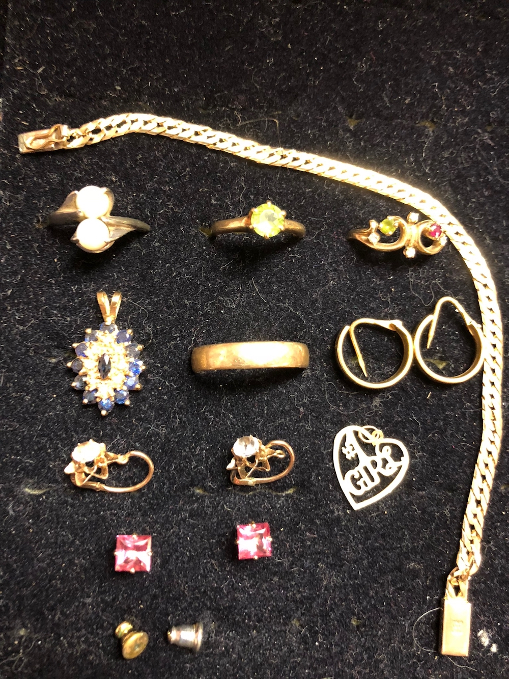 18kt, 14kt, and 10kt Gold Estate Jewelry