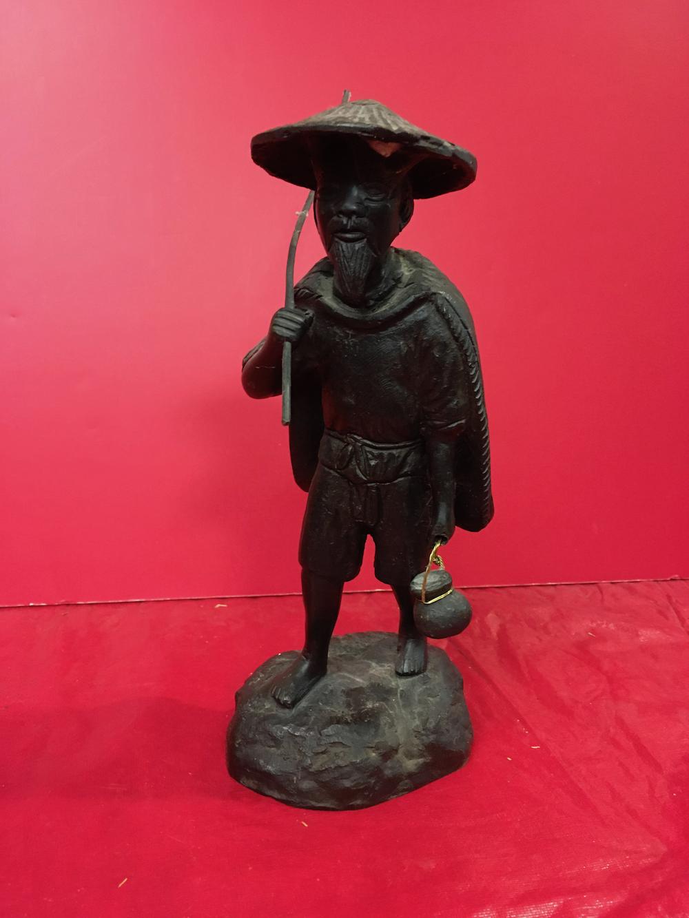 Bronze Asian Statue